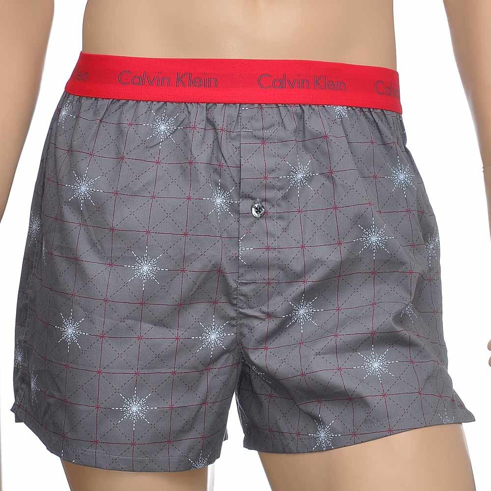 herren calvin klein underwear locker slim fit gewoben boxer shorts ebay. Black Bedroom Furniture Sets. Home Design Ideas