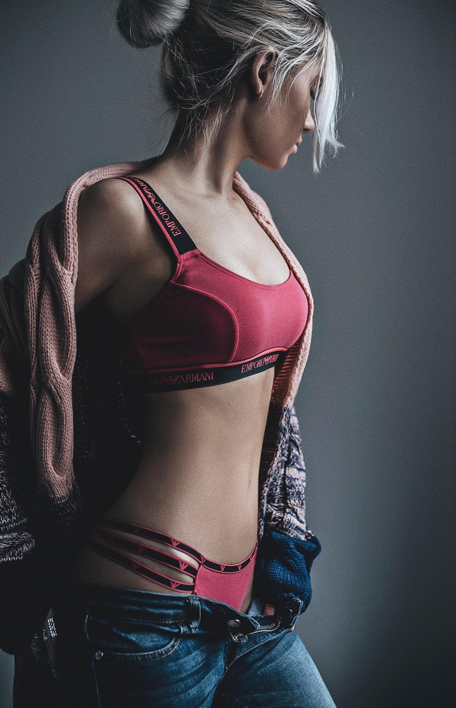 Oksana - Armani Visibility Pink Set