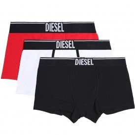 3-Pack Boxer Trunk UMBX-Damien, Black/White/Red