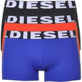 3-Pack Boxer Trunk UMBX-Shawn, Black/Orange/Blue