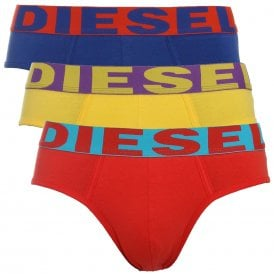 3-Pack Brief UMBR-Andre, Red / Yellow / Blue