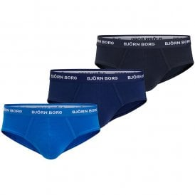 3 Pack Essential Briefs, Blues