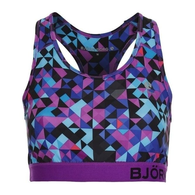 Bjorn Borg Wen Sports Bra, Blocks Blue