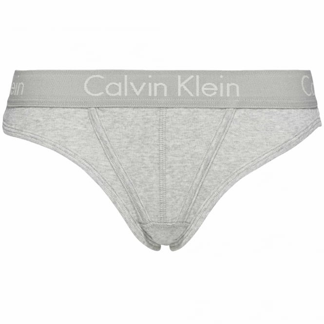 Calvin Klein BODY Cotton Thong, Heather Grey
