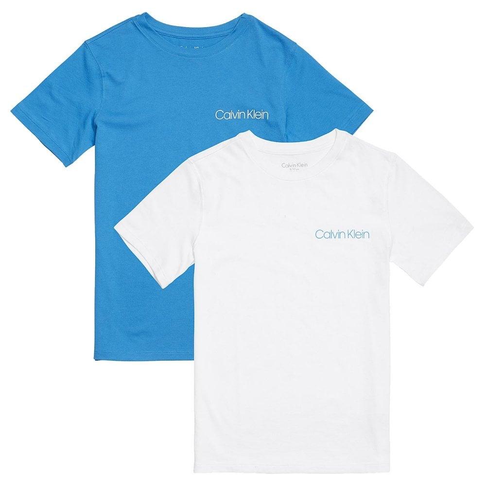 Calvin Klein Boys 2 Pack Short Sleeve