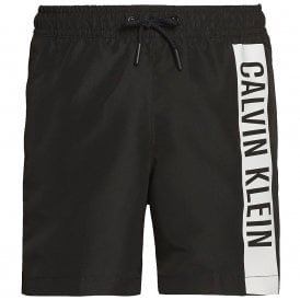 Boys Intense Power Pure Swim Shorts, PVH Black