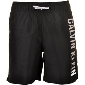 Boys Intense Power Swim Shorts, Black