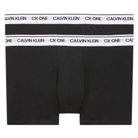 CK One Cotton Stretch 2 Pack Trunk, Black