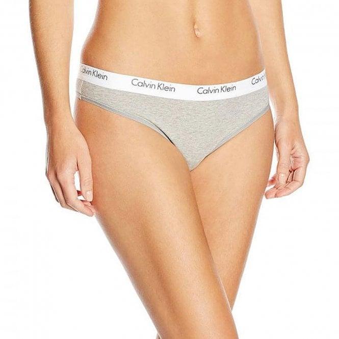 Calvin Klein CK One Cotton Thong, Grey
