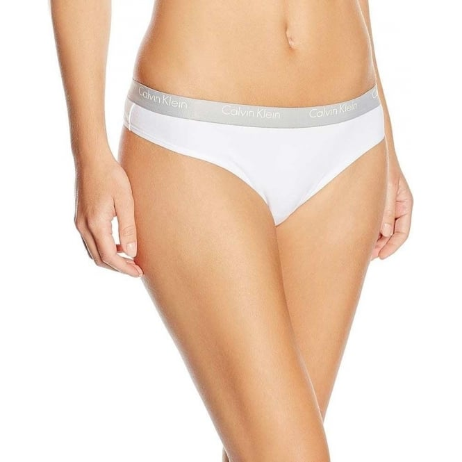 Calvin Klein CK One Cotton Thong, White