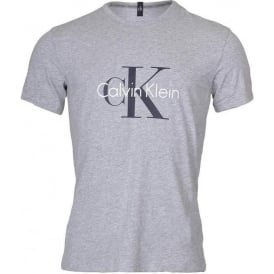 CK Origins Short Sleeved Crew Neck T-Shirt , Heather Grey