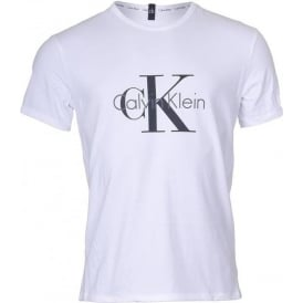 CK Origins Short Sleeved Crew Neck T-Shirt , White