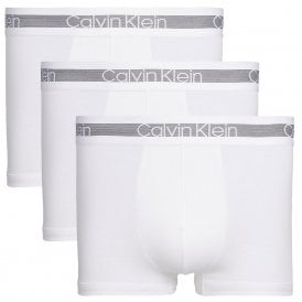 COOLING Cotton Stretch 3 Pack Trunk, White