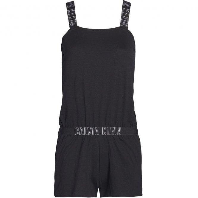 Calvin Klein Cotton Romper Beachwear / Playsuit, Pvh Black