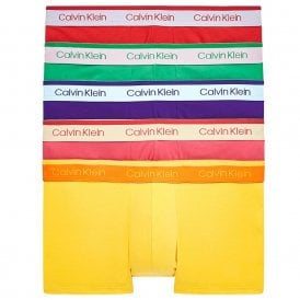 Cotton Stretch 5 Pack Low Rise Trunk, Pride Colours