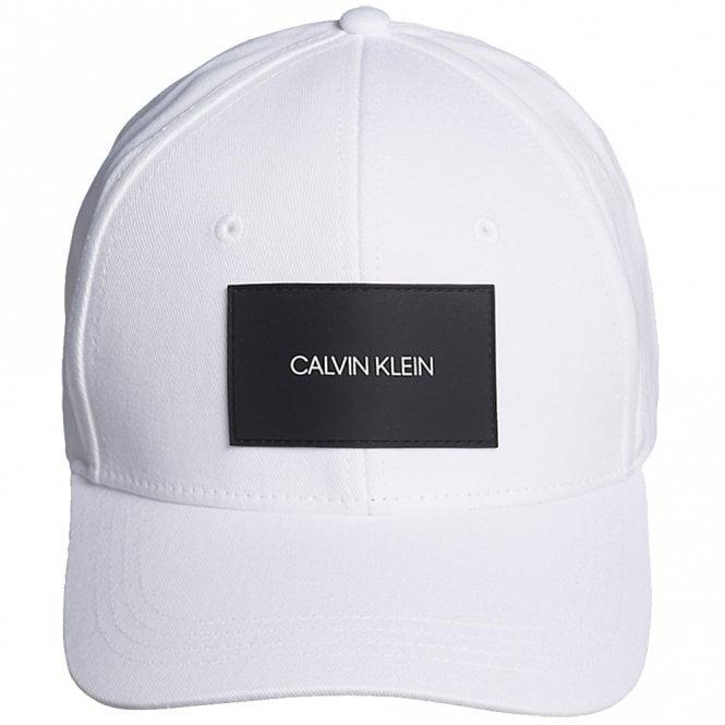 Calvin Klein Cotton Twill Cap, PVH Classic White