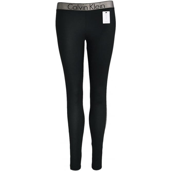 Calvin Klein Customized Stretch Legging, Black