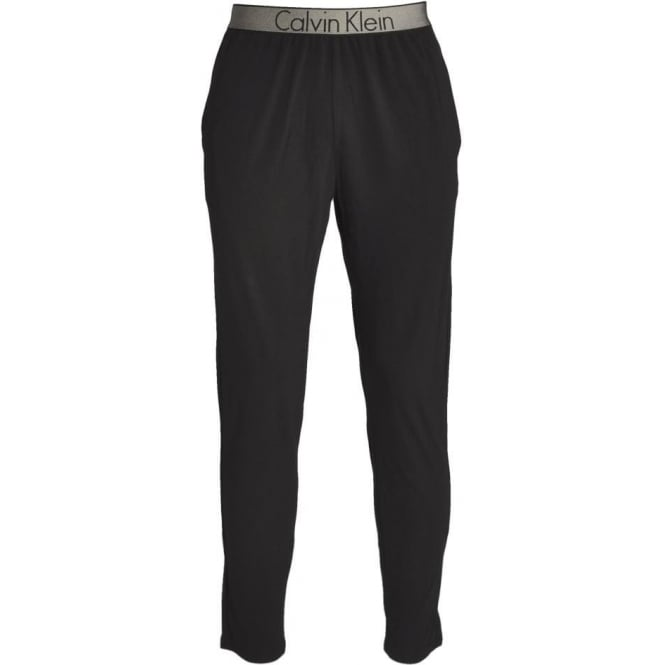 Calvin Klein Customized Stretch PJ Lounge Pants, Black