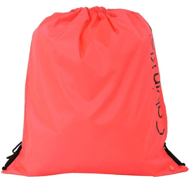 Calvin Klein Drawstring Bag, Diva Pink