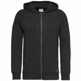 Focused Fit Zip Hoodie, Black