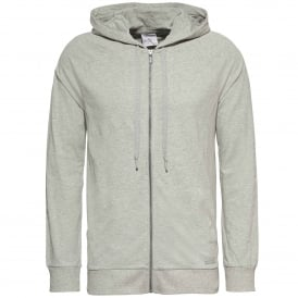 Focused Fit Zip Hoodie, Heather Grey