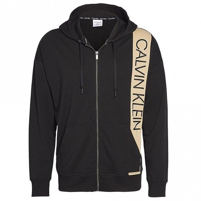 Calvin Klein Full Zip Hoodie, Black
