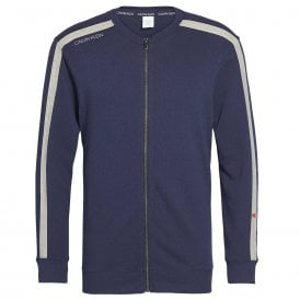 Full Zip Sweatshirt, Shoreline Blue