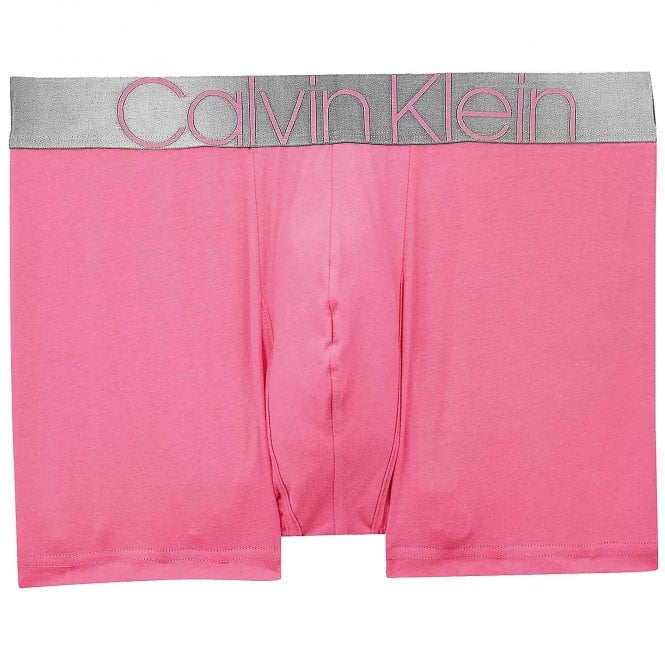 Calvin Klein Icon Cotton Stretch Trunk, Pink Smoothie