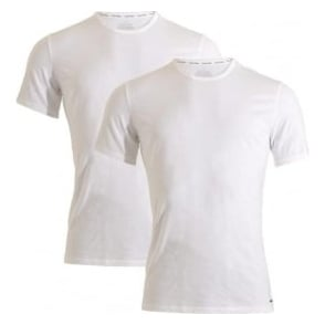 b360f3768d5 ID Cotton Short Sleeved Slim Fit Crew Neck T-Shirt 2-Pack