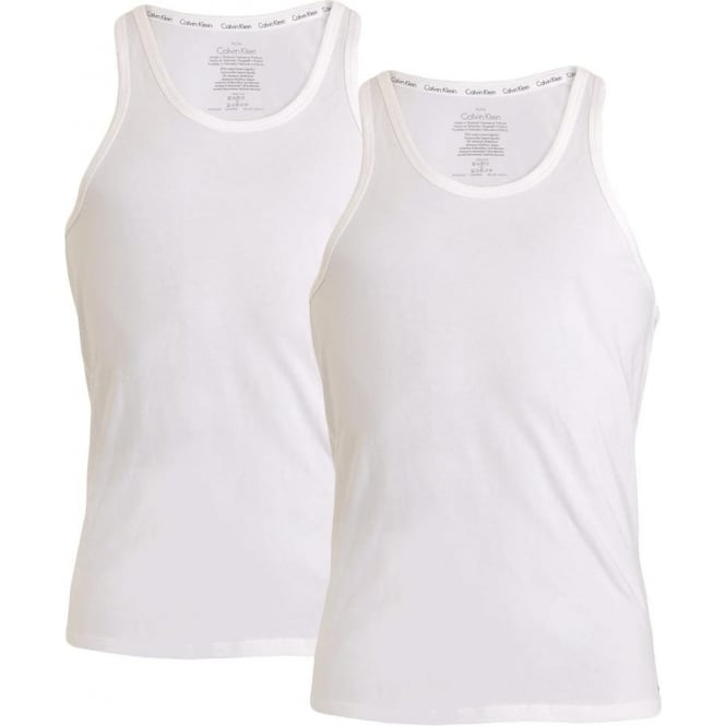fab0eec57f618 Calvin Klein ID Cotton Tank Top 2-Pack