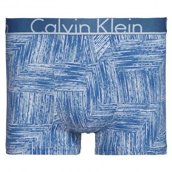 Calvin Klein ID Cotton Trunk, Wood Grain Print