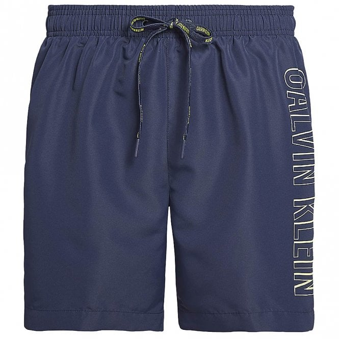Calvin Klein Intense Power Swim Shorts, Blue Shadow