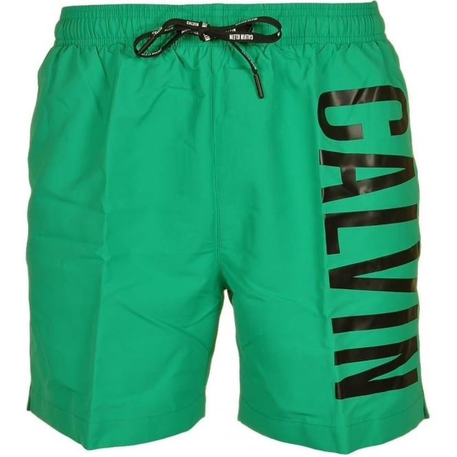 Calvin Klein Intense Power Swim Shorts, Green