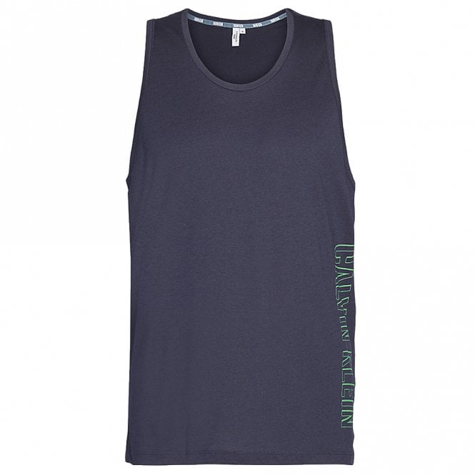 Calvin Klein Intense Power Tank Top, Blue Shadow