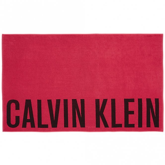 Calvin Klein Intense Power Towel, Pink Glo