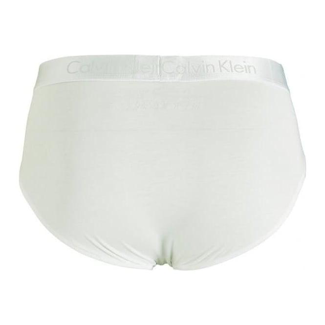 31bcfe78bbbd Calvin Klein Liquid Cotton Hip Brief, White