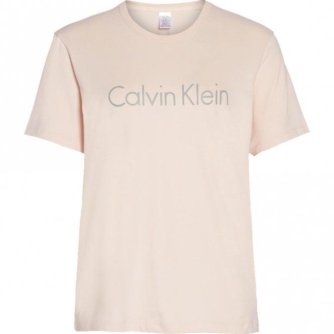 Calvin Klein Logo Crew Neck T-Shirt, Nymphs Thigh