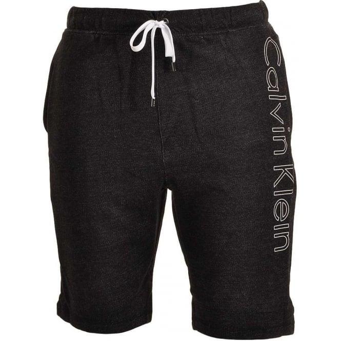 Calvin Klein Logo Lounge Shorts, Black