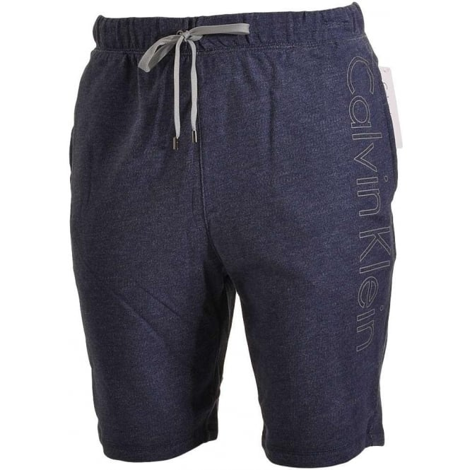 Calvin Klein Logo Lounge Shorts, Blue Shadow