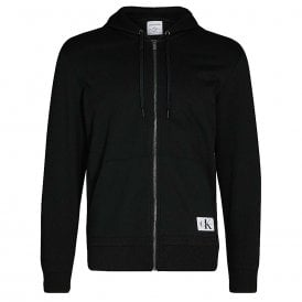 Full Zip Hoodie - Monogram, Black