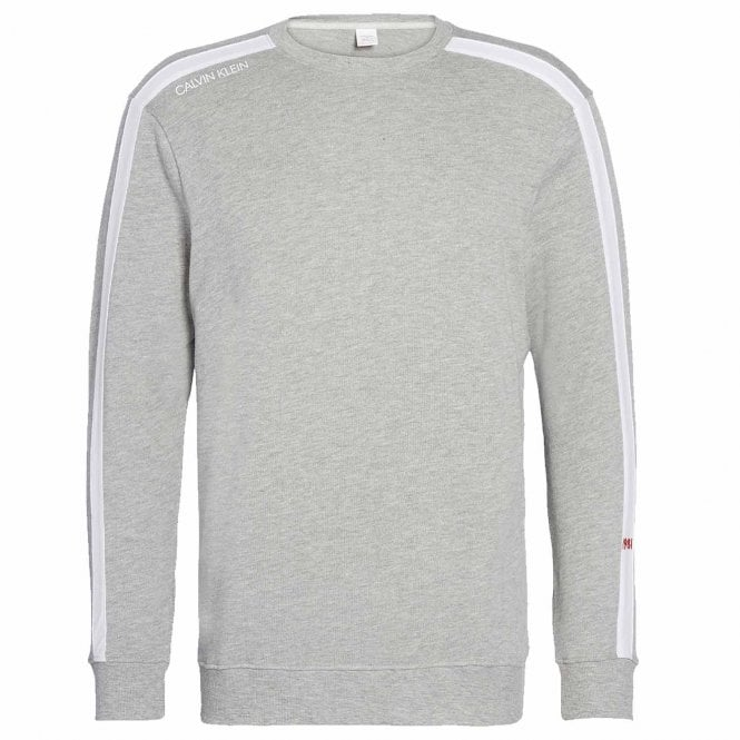 Calvin Klein Long Sleeve Sweatshirt, Heather Grey