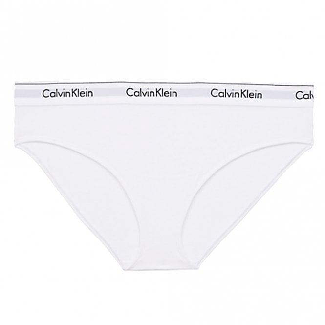 Calvin Klein Modern Cotton Plus Bikini Brief, White