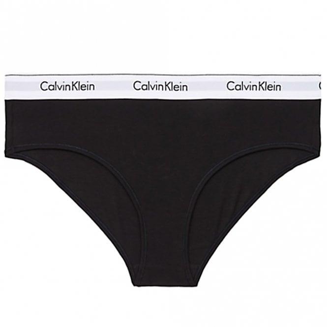 Calvin Klein Modern Cotton Plus Hipster Brief, Black