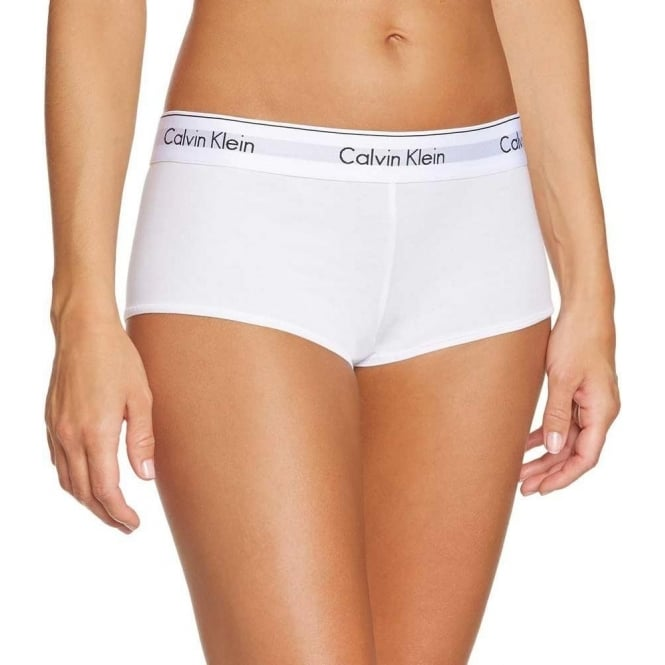 Calvin Klein Modern Cotton Short, White