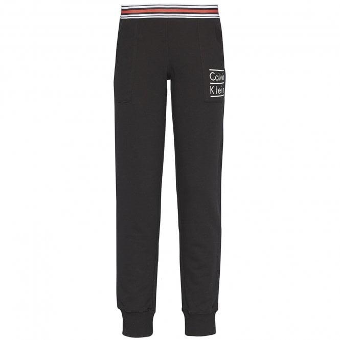 Calvin Klein Modern Cotton Stacked Logo Jogger, Black