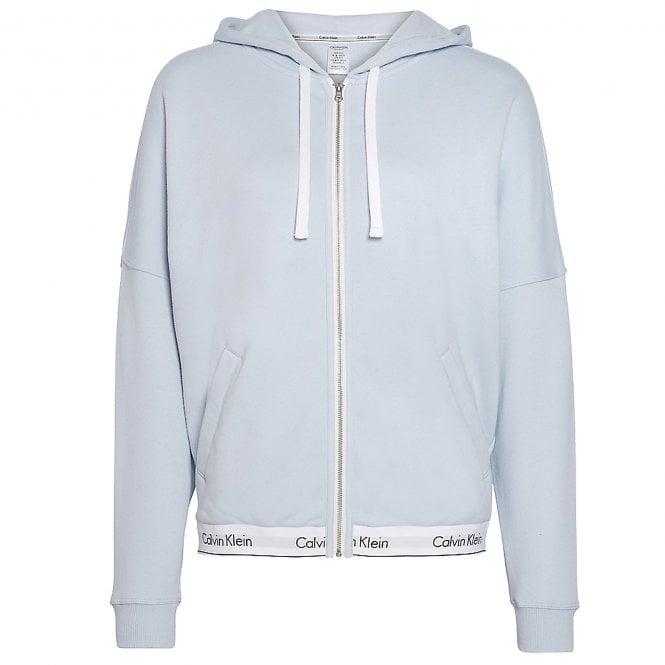 Calvin Klein Modern Cotton Zip Hoodie, Ice Pulp