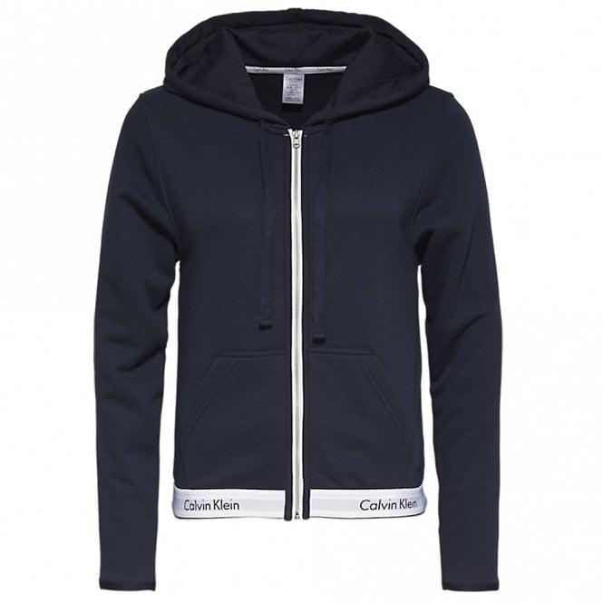 Calvin Klein Modern Cotton Zip Hoodie, Shoreline Blue