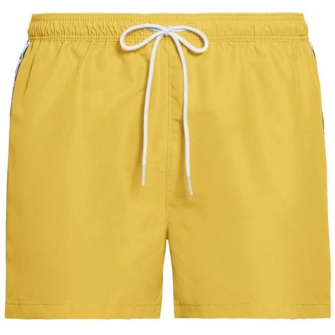 Calvin Klein Mono Tape Short Drawstring Swim Shorts, Mimosa