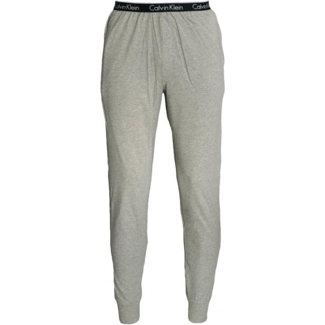 31144e7552980 Calvin Klein One Cuffed PJ Lounge Pants Heather Grey