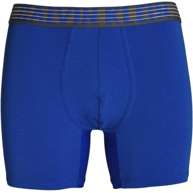 Calvin Klein Performance Breathable Tech Boxer Brief, Muscari Blue